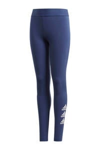 adidas sportbroek blauw/wit, Blauw/wit