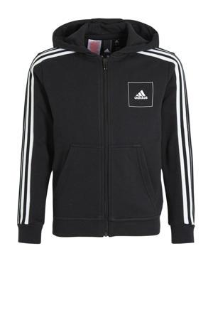 sportvest zwart/wit