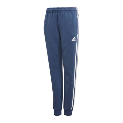 adidas Performance joggingbroek blauw/wit