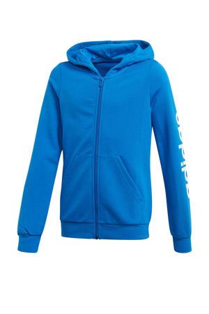 sportvest blauw