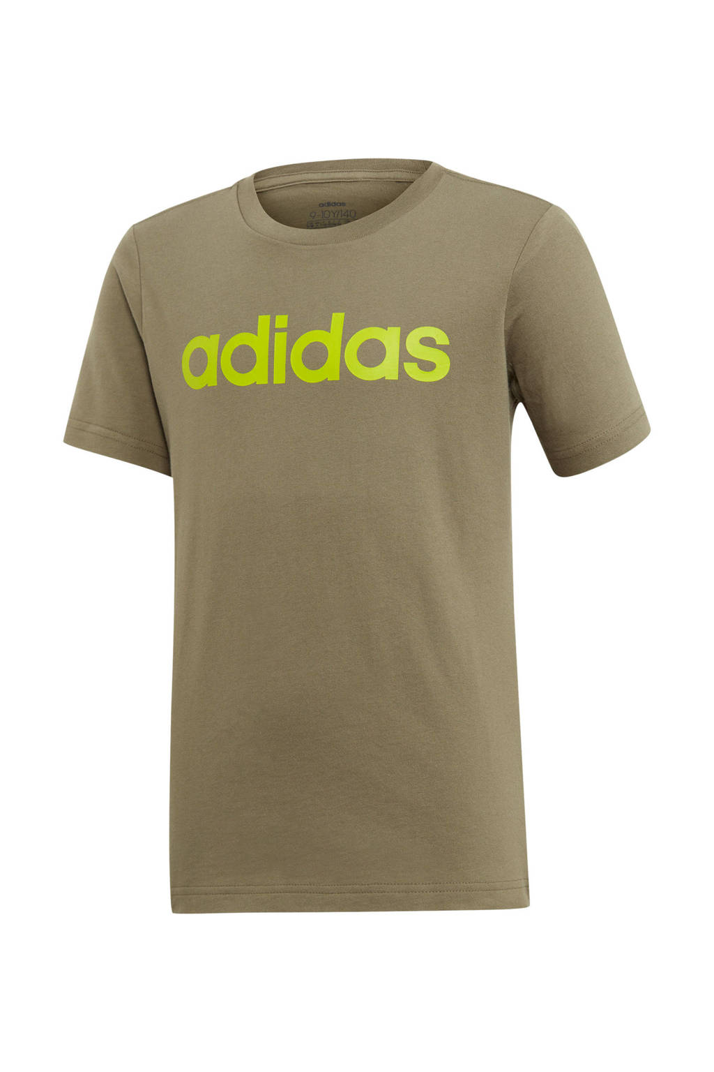 adidas Performance   sport T-shirt olijfgroen/limegroen, Olijfgroen/limegroen