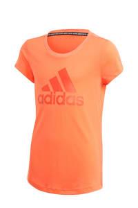 adidas Performance sport T-shirt oranje, Oranje