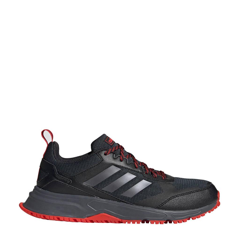 adidas Performance Rockadia Trail 3.0 Rockadia Trail 3.0 hardloopschoenen, Zwart/antraciet/rood