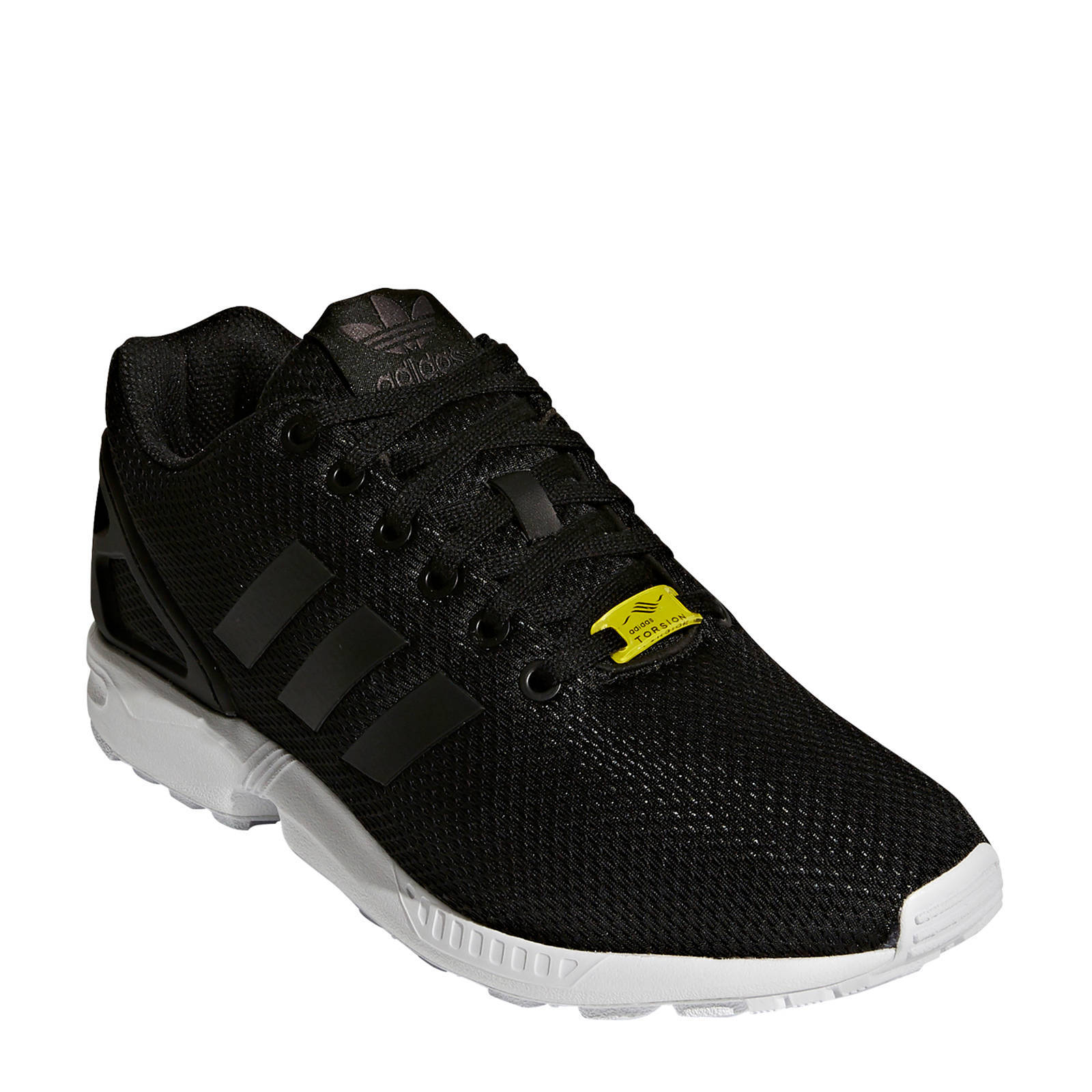 adidas originals ZX Flux sneakers zwart   wehkamp