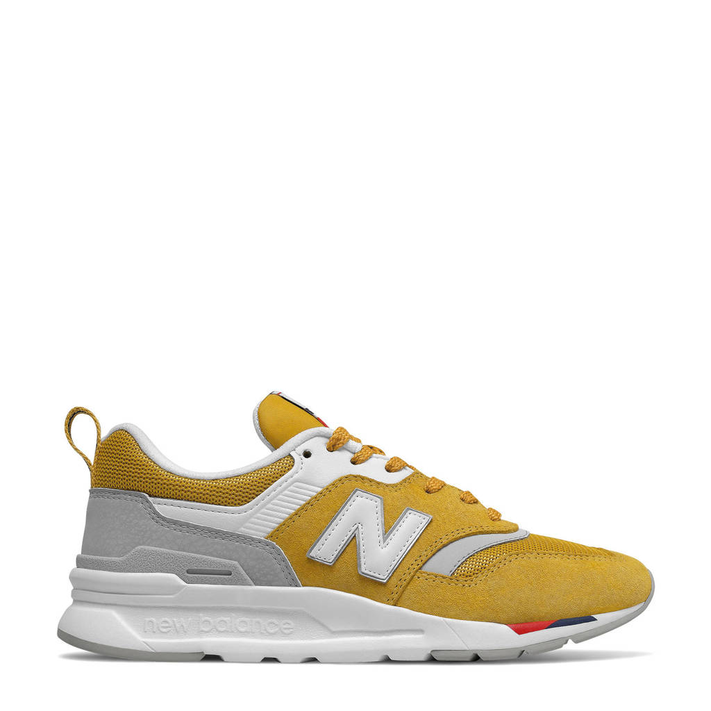 New Balance 997  sneakers geel/wit, Geel/wit/rood