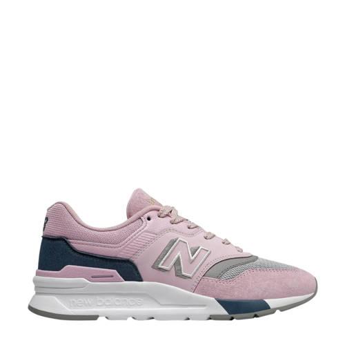 New Balance 997 sneakers roze/blauw