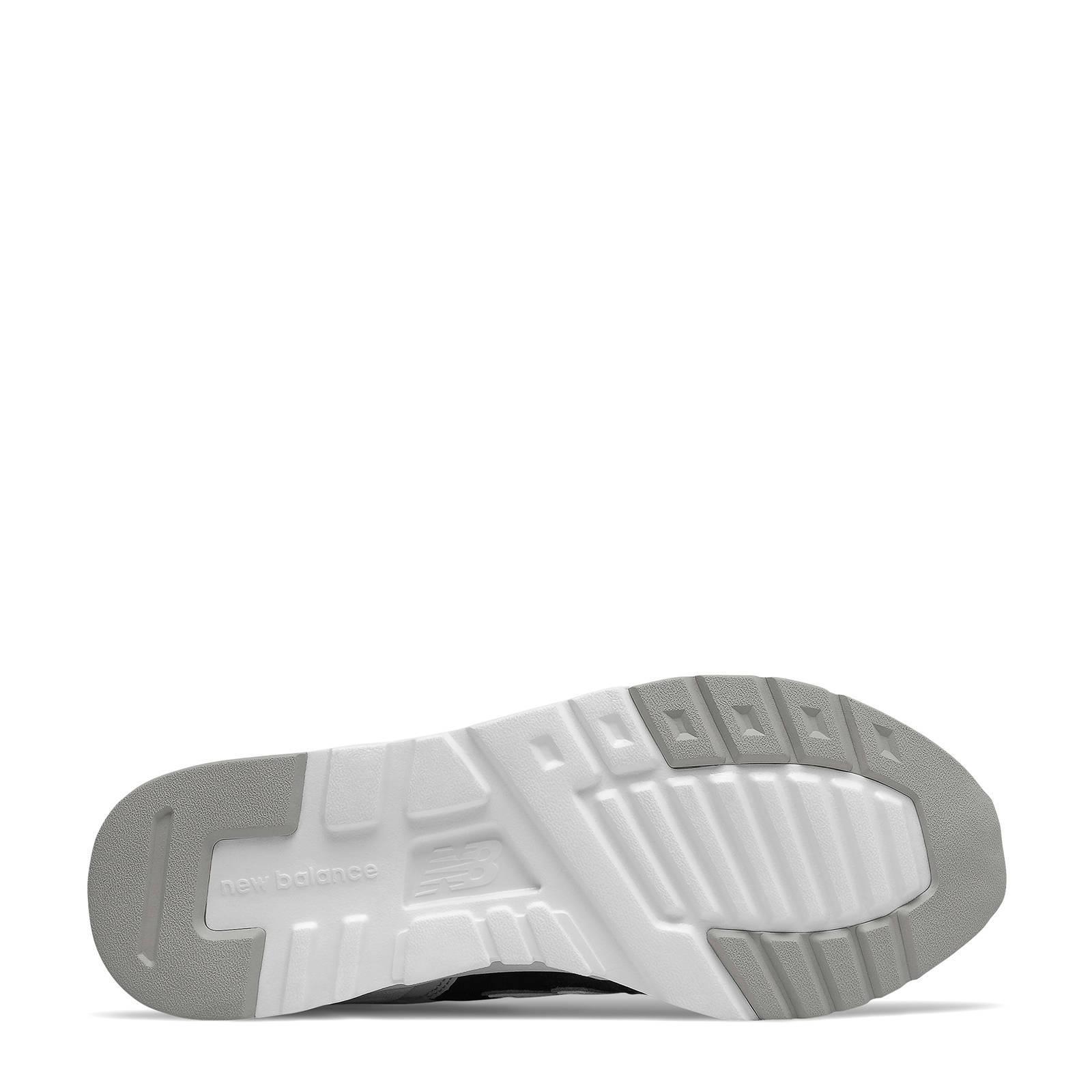 New Balance 997 sneakers zwart/grijs/rood | wehkamp