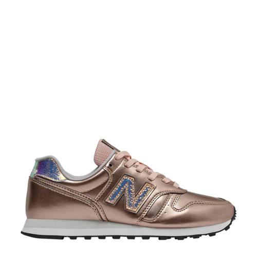New Balance 373 leren sneakers ros??goud