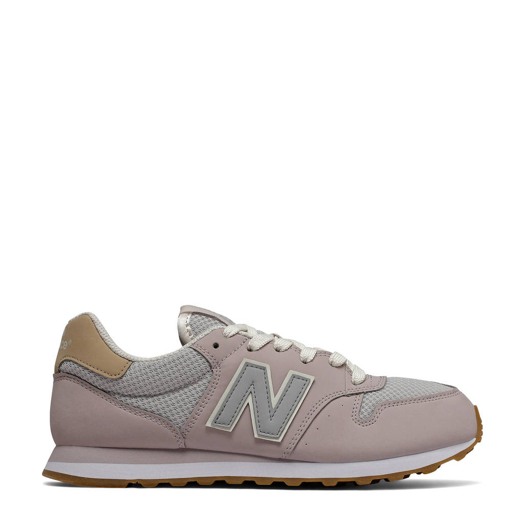 New Balance 500  sneakers lila/grijs, Lila/grijs