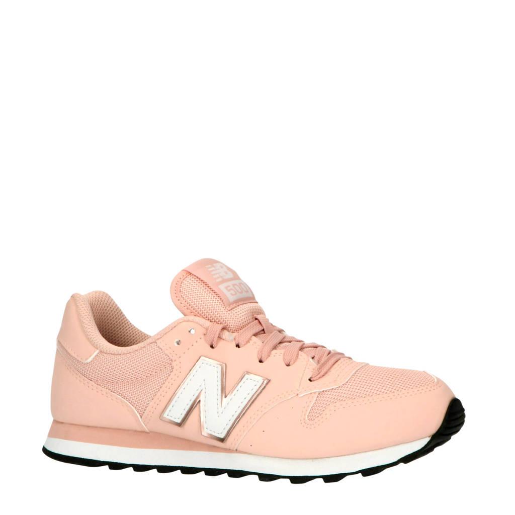 New Balance 500  sneakers lichtroze/wit, Lichtroze/wit