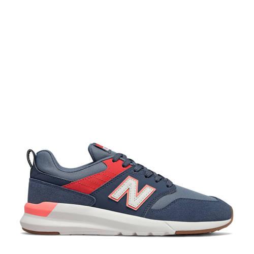New Balance 009 sneakers donkerblauw/rood/blauw