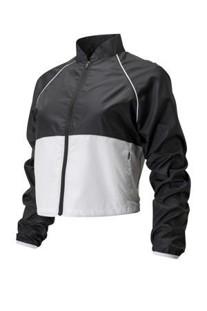 sportjack zwart/wit