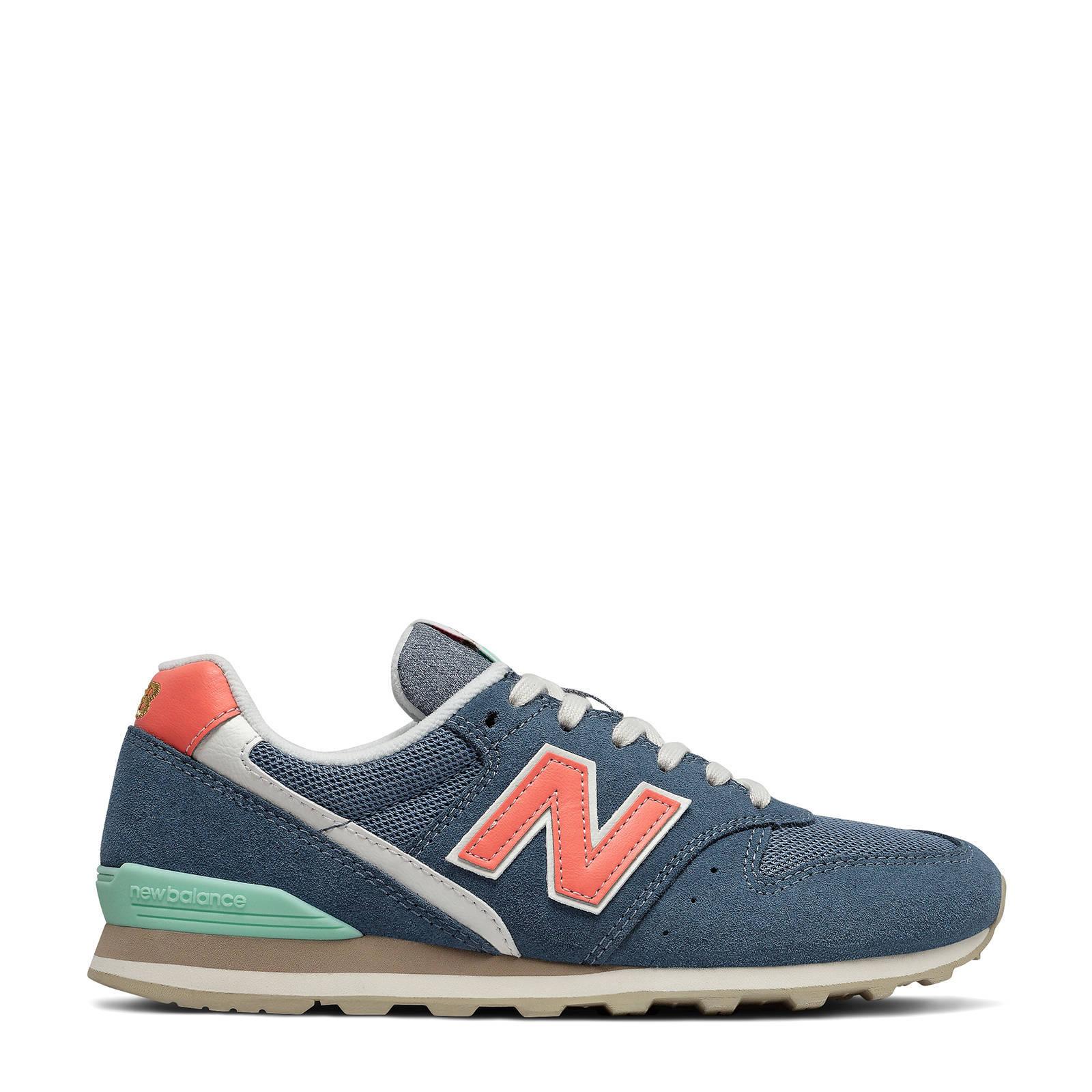 996 sneakers petrol/zalm