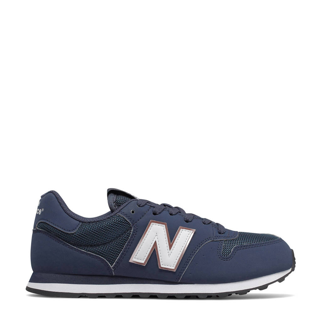 New Balance 500  sneakers donkerblauw/wit, Donkerblauw/wit