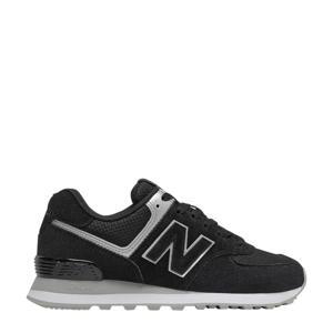 574  sneakers zwart/grijs