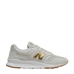 997  sneakers lichtgrijs/goud