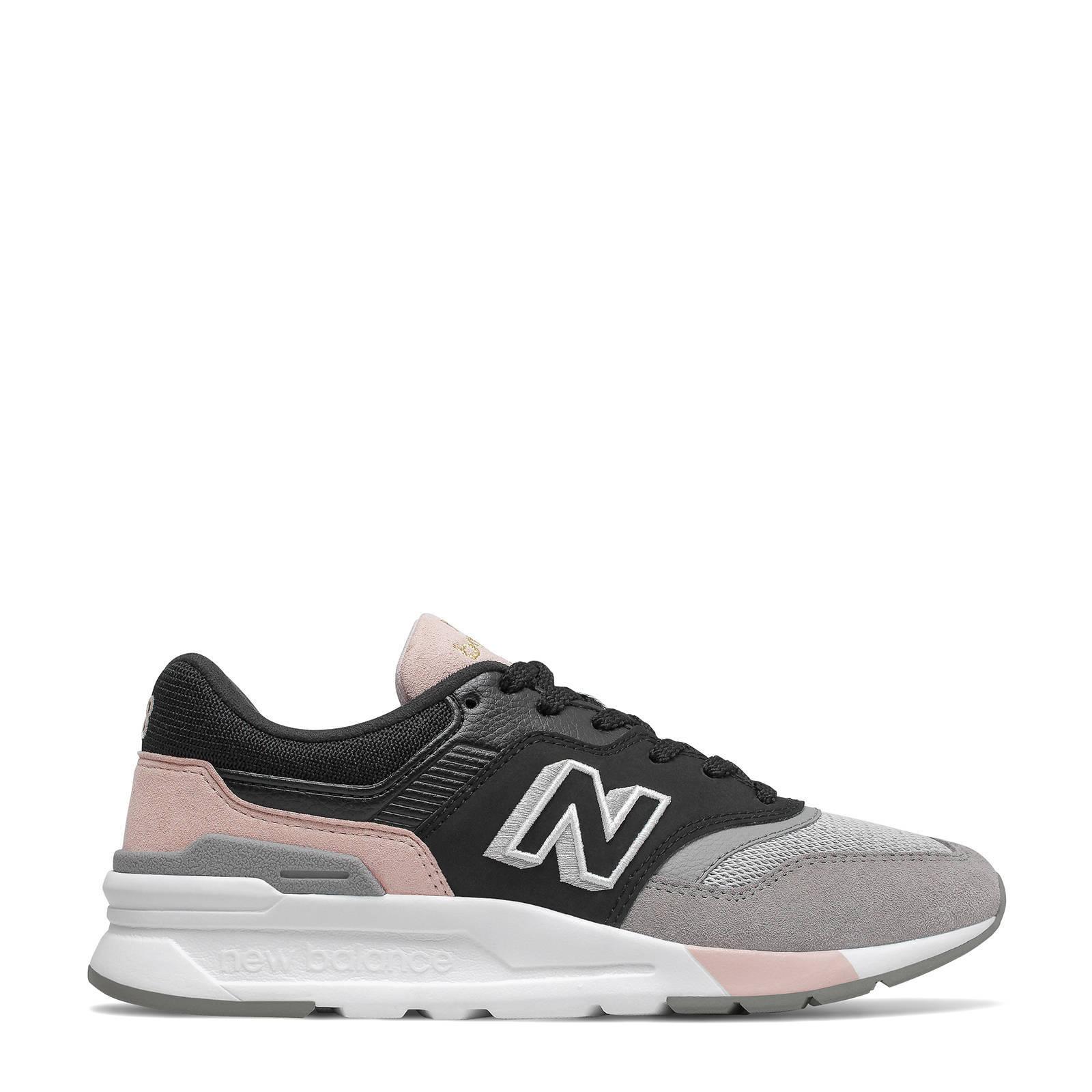 997H sneakers zwart/grijs/roze