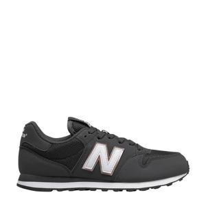 500  sneakers zwart/wit