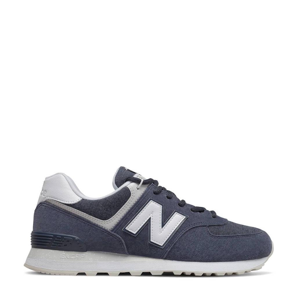 New Balance 574  sneakers donkerblauw/wit, Donkerblauw