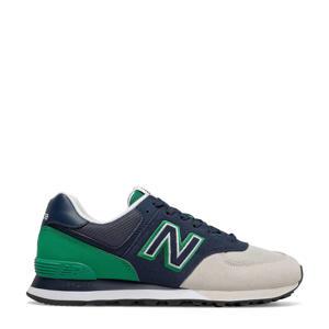 574  sneakers zwart/groen
