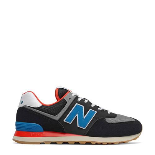 New Balance 574 sneakers zwart/grijs/blauw