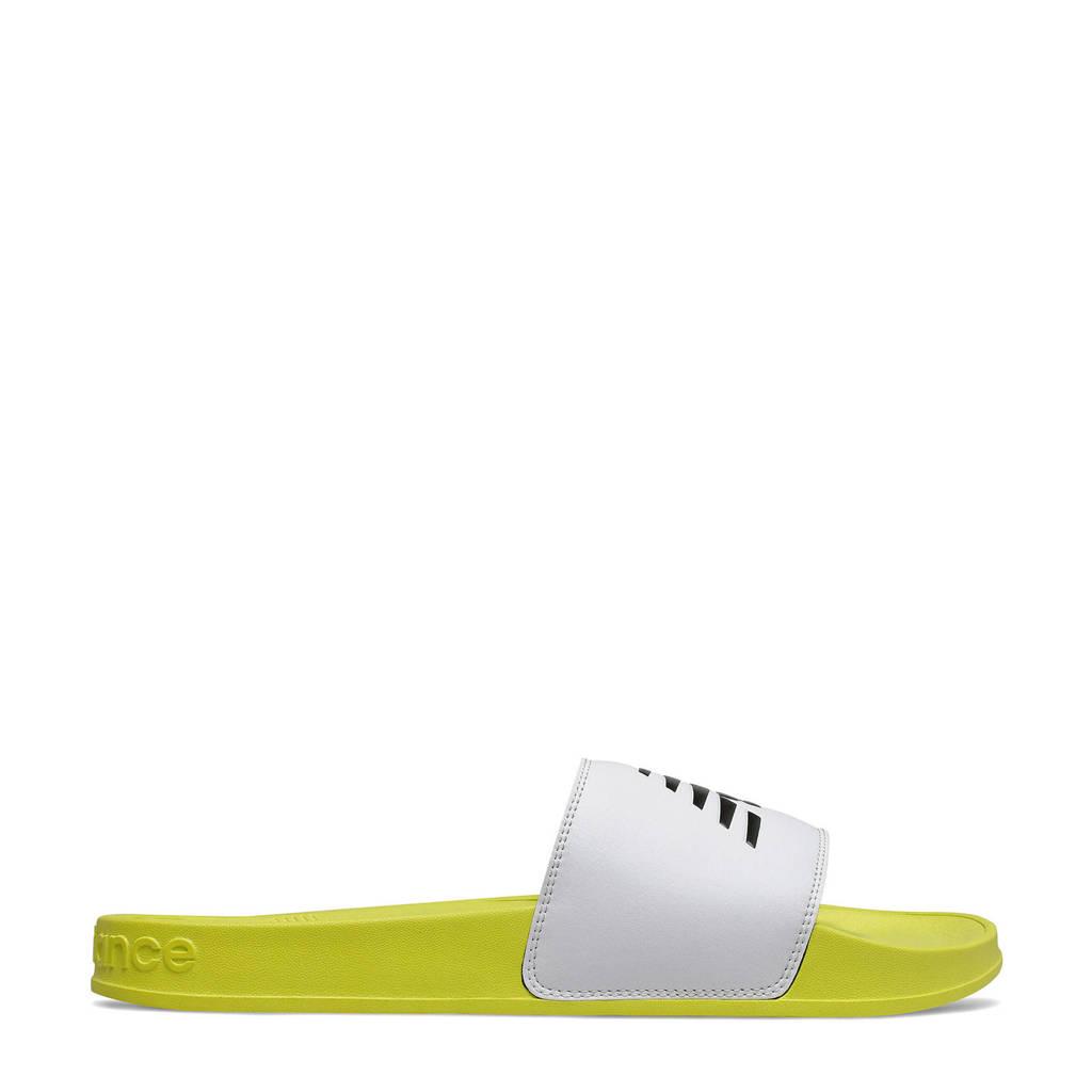 New Balance 200  badslippers geel/lichtgrijs, Geel