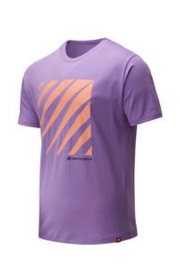 New Balance T-shirt paars, Paars