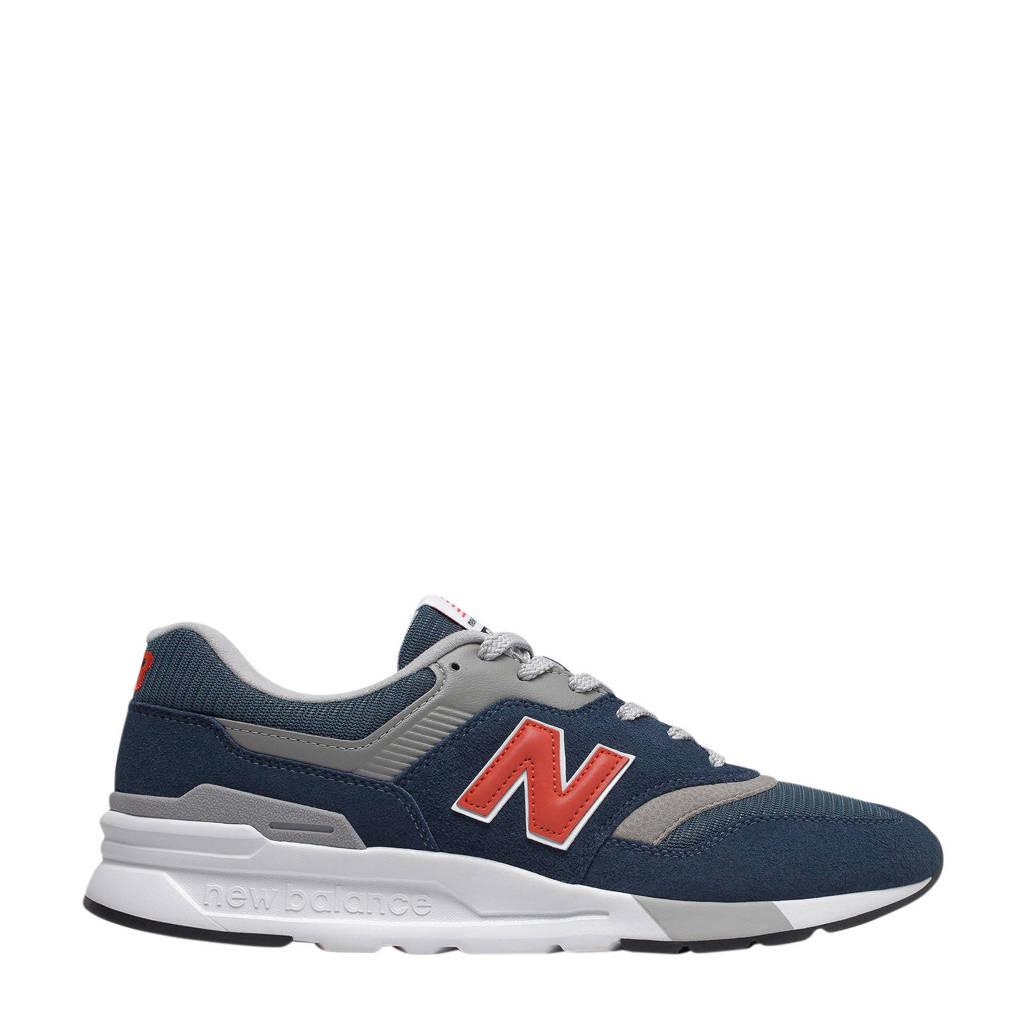 New Balance 997  sneakers donkerblauw/grijs/rood, Donkerblauw
