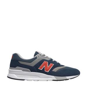 997  sneakers donkerblauw/grijs/rood