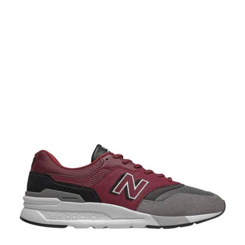 New Balance 997 sneakers donkerrood/zwart