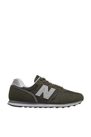 373  sneakers donkergroen/wit