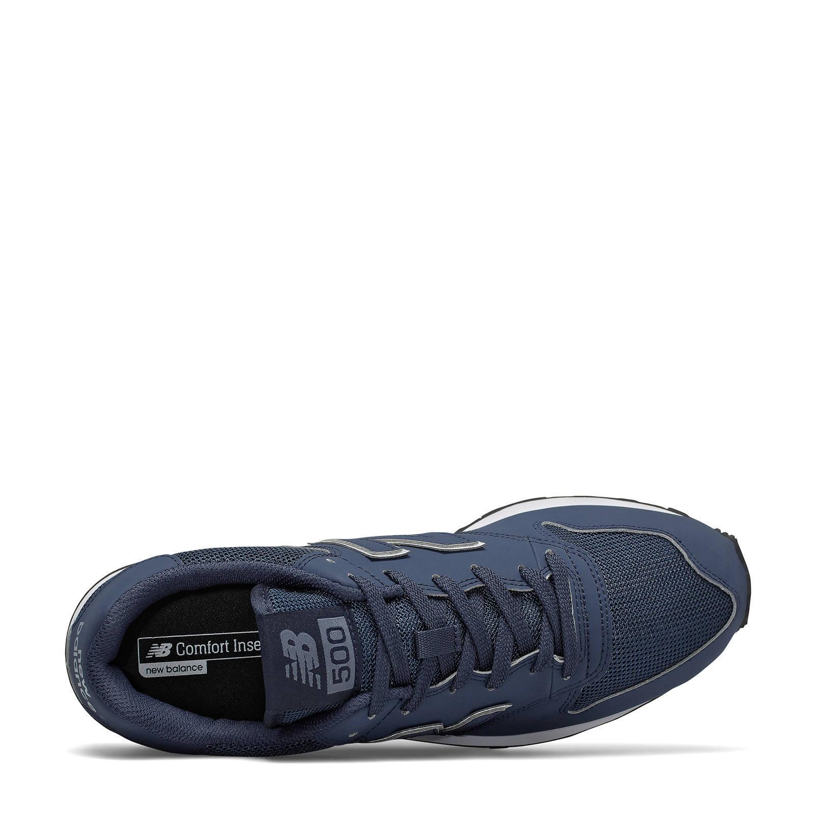 500 sneakers blauw