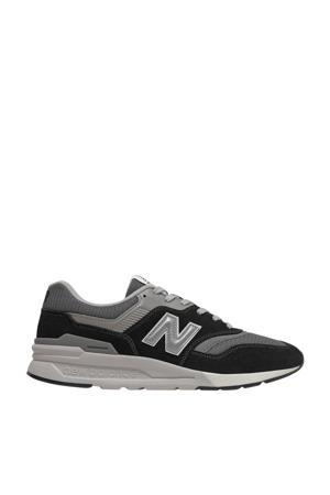 997  sneakers zwart/grijs