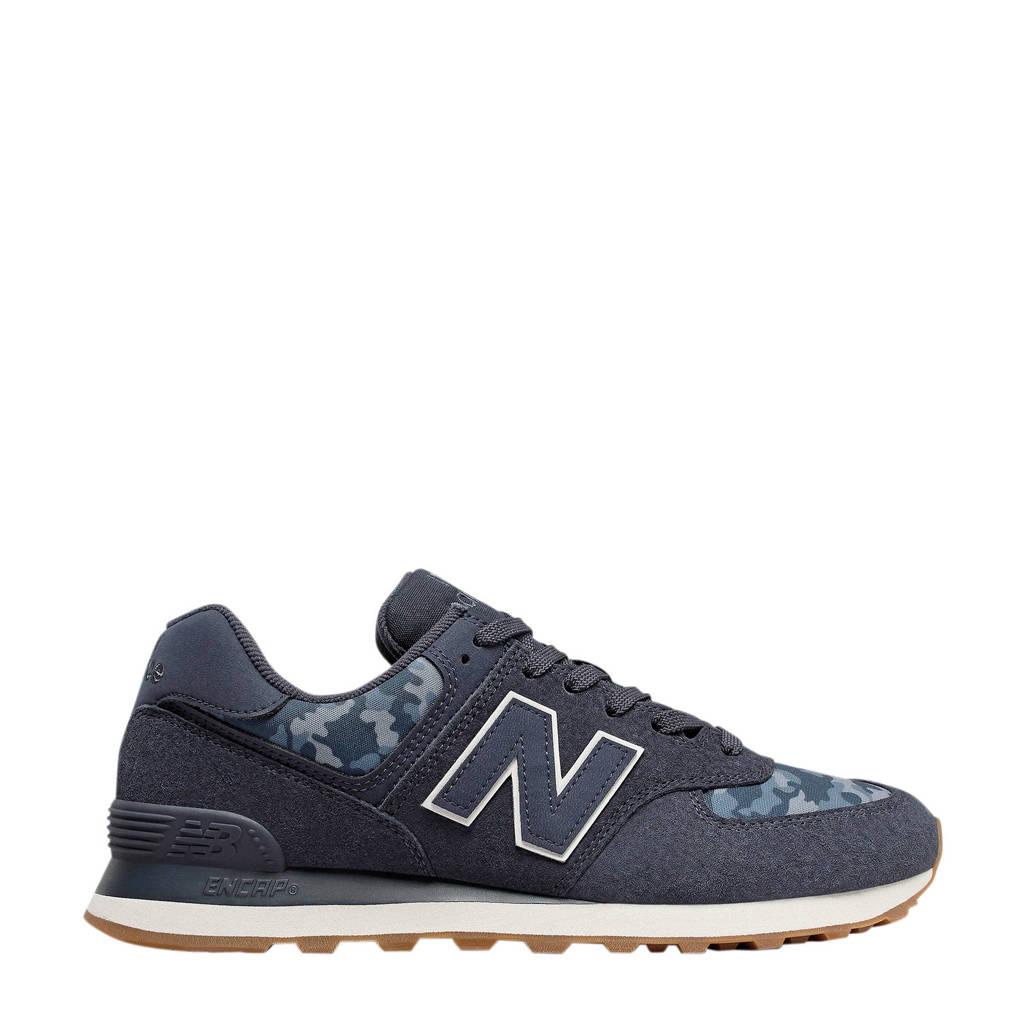 New Balance 574  sneakers donkerblauw, Donkerblauw/grijs