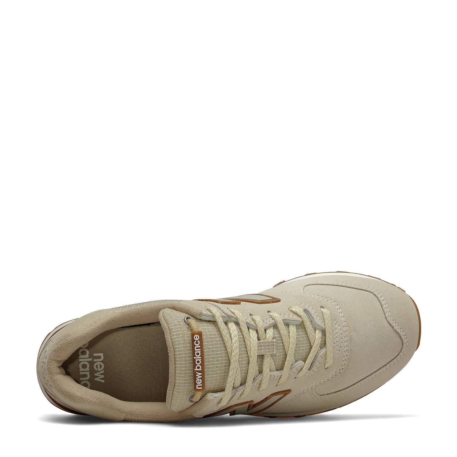 New Balance 574 sneakers lichtgrijs/beige | wehkamp