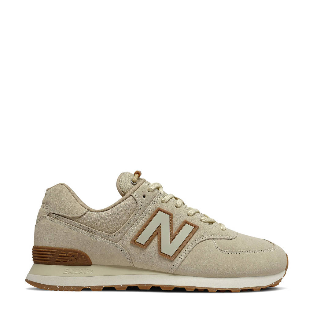 New Balance 574  sneakers lichtgrijs/beige, Lichtgrijs/beige