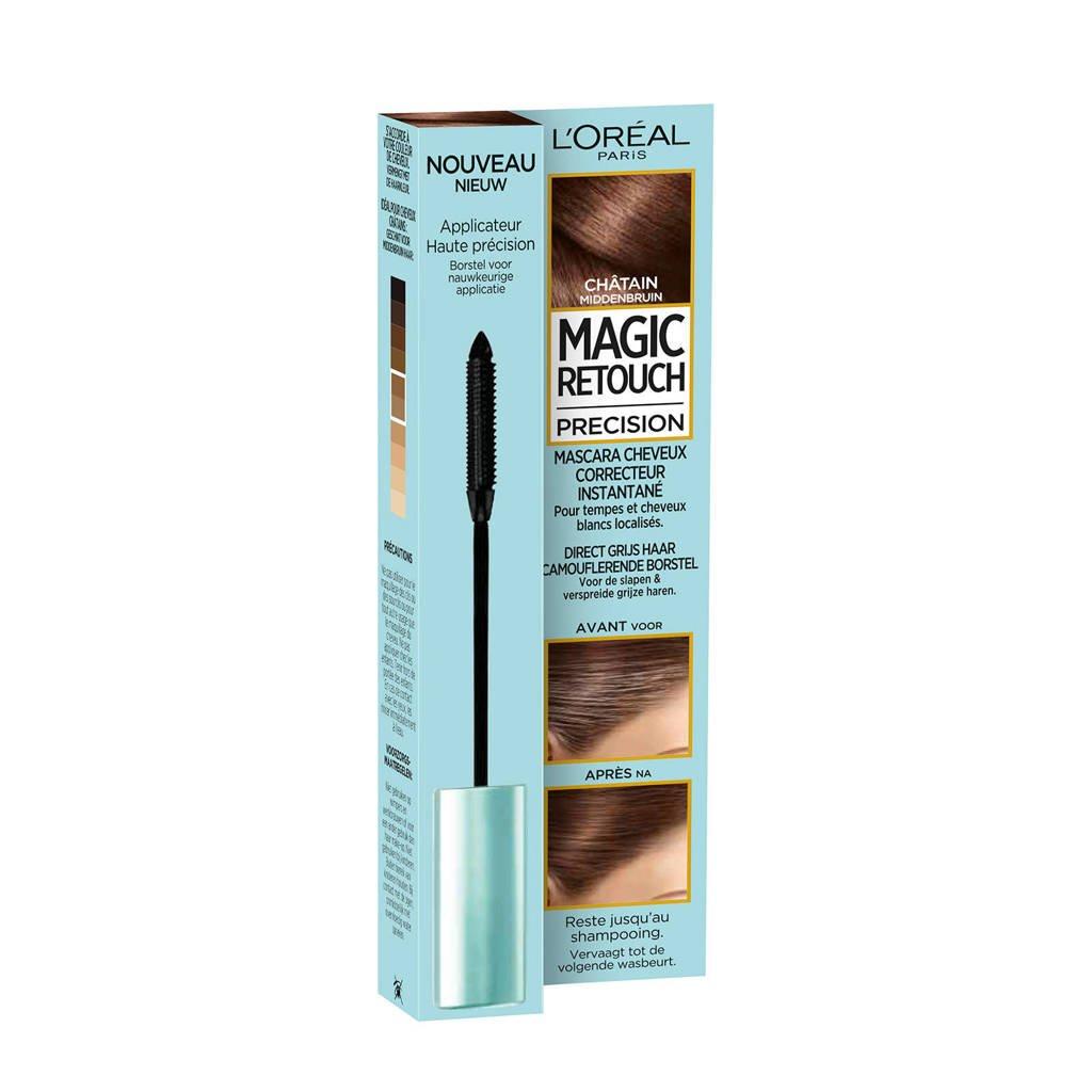 L'Oréal Paris Magic Retouch Precision haarkleuring - Middenbruin