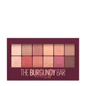 Limited Edition The Burgundy Bar Oogschaduw en Highlighter Palette