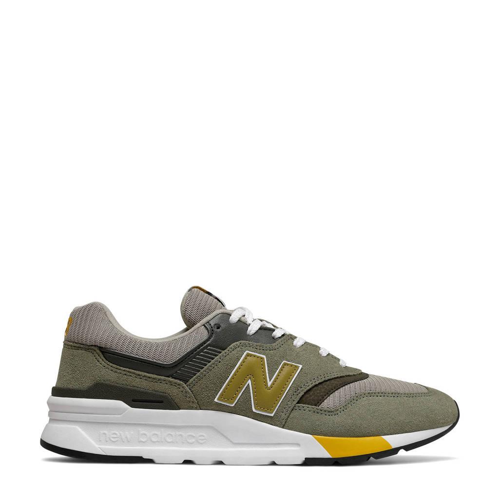 New Balance 997H  sneakers groen/geel, Groen/geel