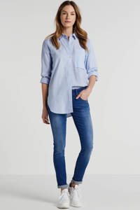 LTB low waist slim fit jeans Molly blauw, Blauw