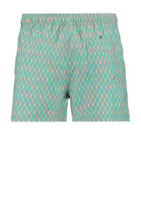 America Today zwemshort Arizona met all over print groen, Mintgroen