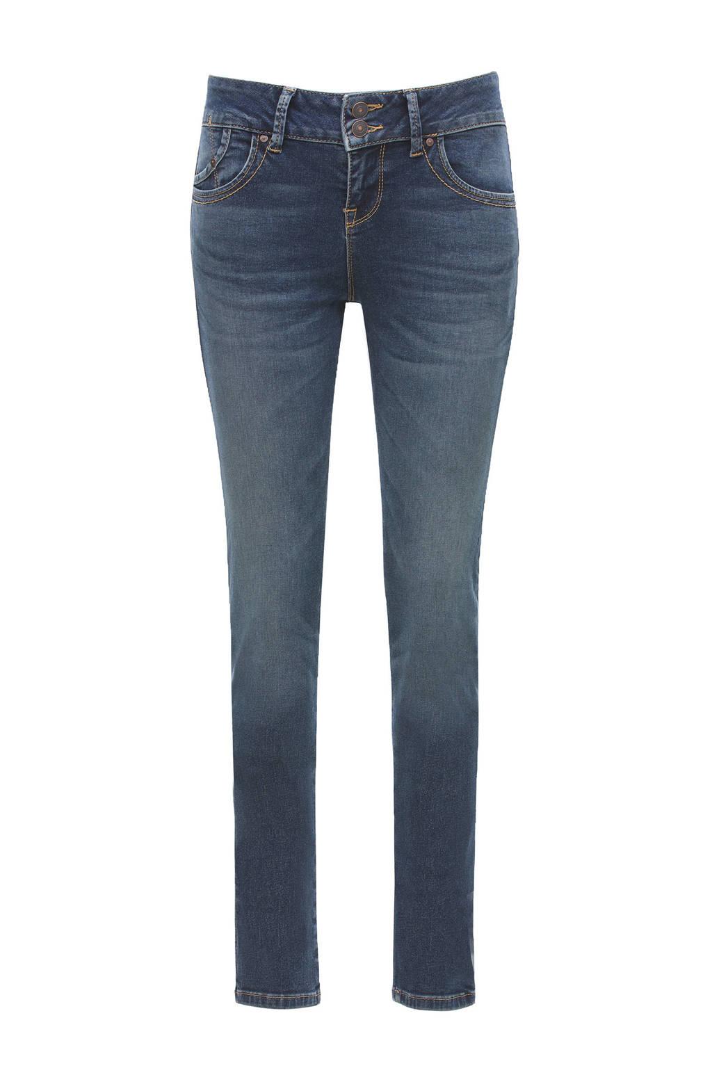 LTB low waist slim fit jeans blauw, Blauw