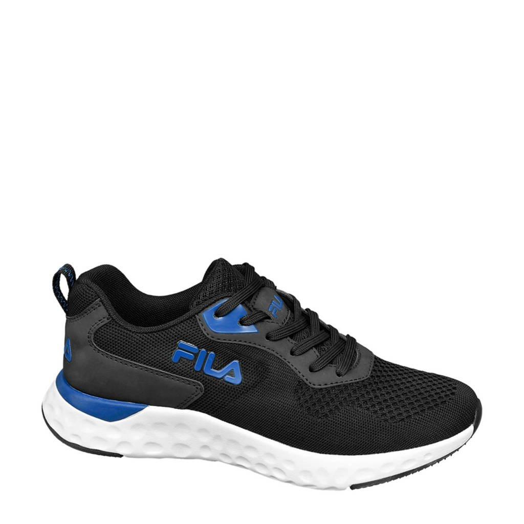 Fila   sneakers zwart, Zwart/blauw