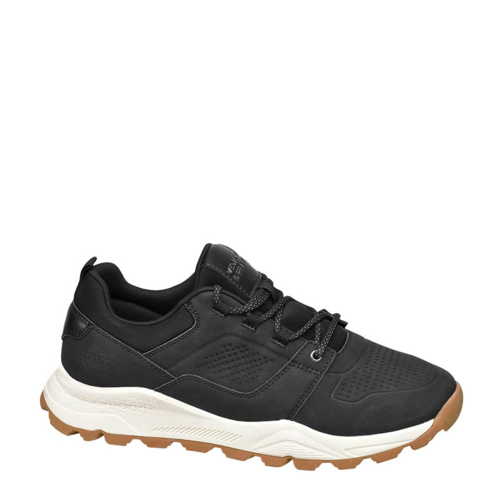 Venice   sneakers zwart, Zwart