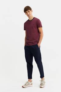 WE Fashion T-shirt aubergine, Aubergine