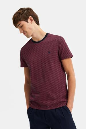 T-shirt aubergine