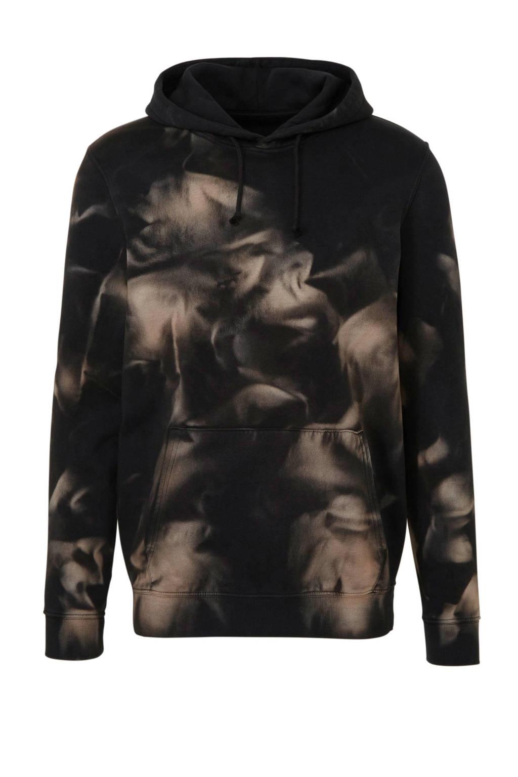 C&A Clockhouse hoodie met all over print bruin, Bruin