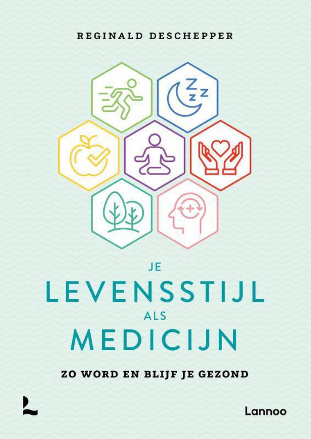 Je levensstijl als medicijn - Reginald Deschepper