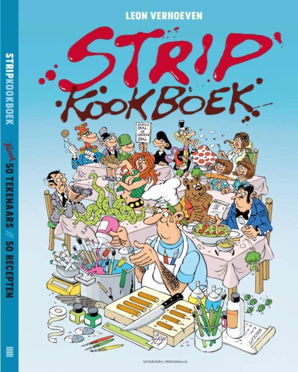 Stripkookboek - Leon Verhoeven