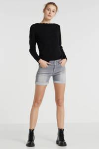 LTB jeans short Becky X grijs, Grijs